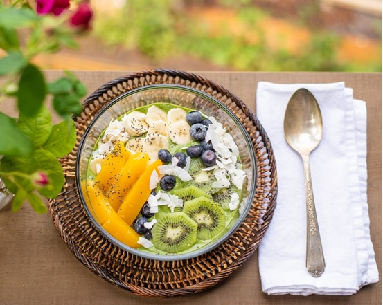 flaxseed use in fruits salad
