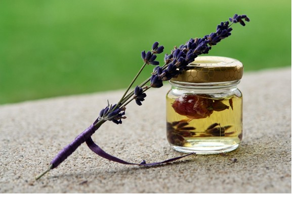 Lavender essential oils are extensively used for its calming effects.