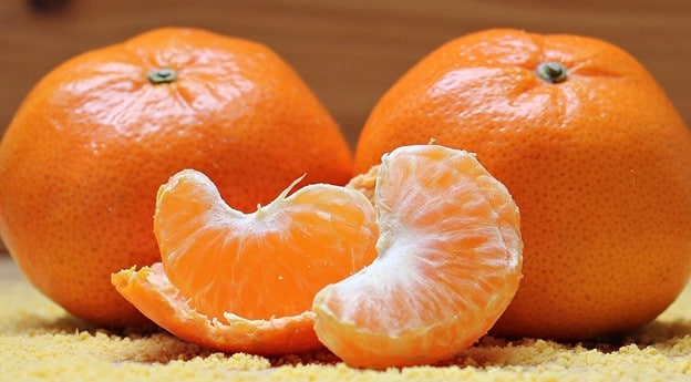 vitamin c in oranges